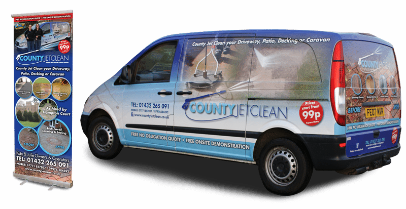 County Jet Clean Signage
