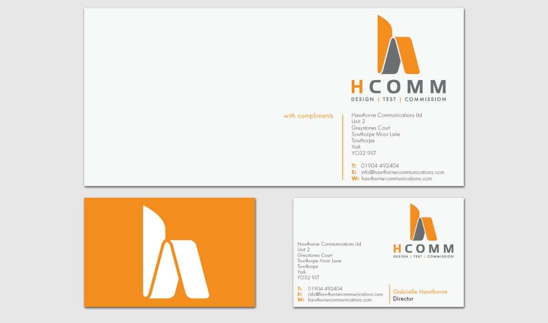 Hcomm Rail stationery