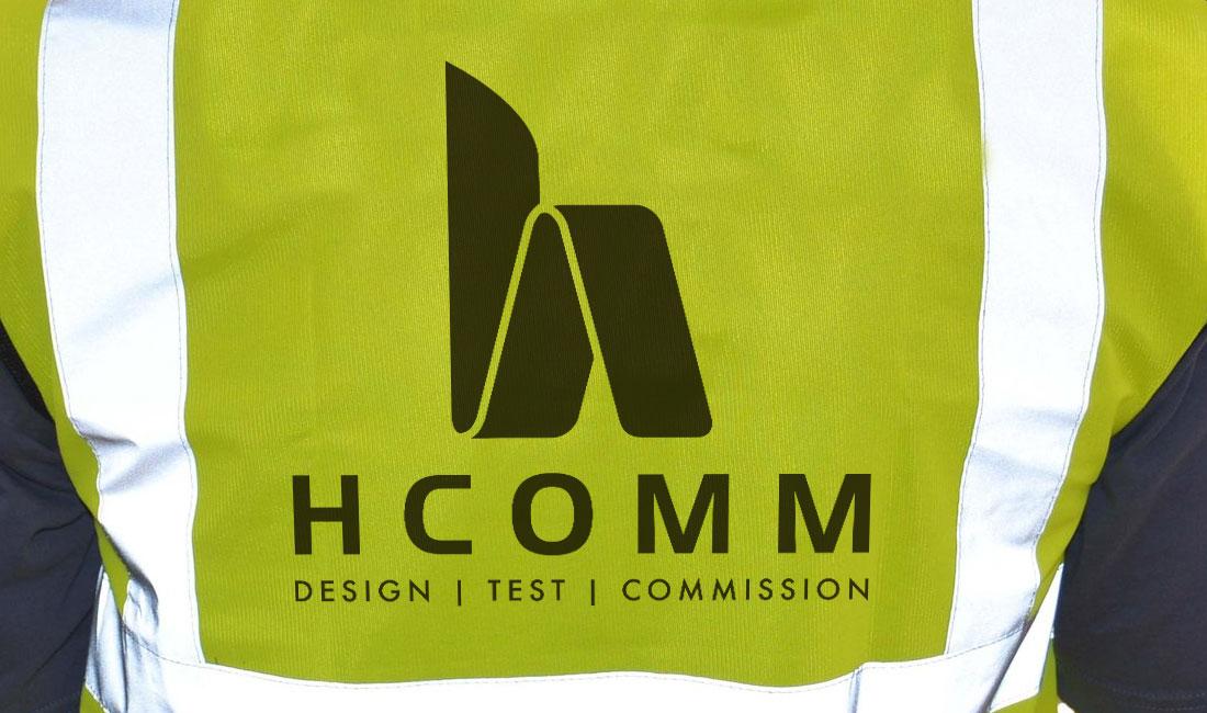 Hcomm Rail logo