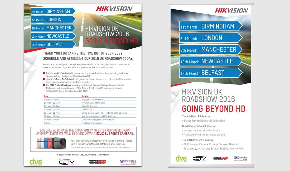 HIK Vision Roadshow Advertising