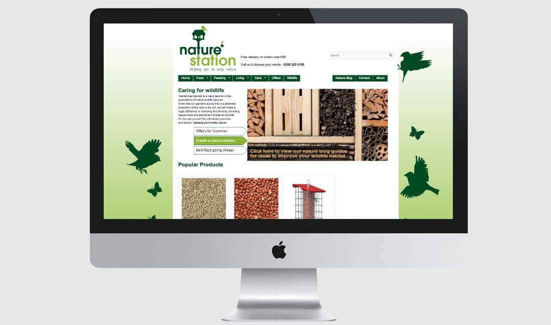 Nature Station Website