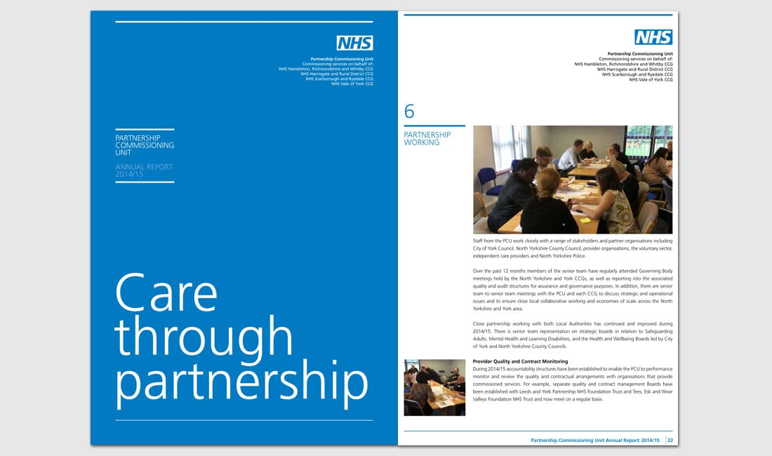 NHS Partnership Commissioning Unit annual report