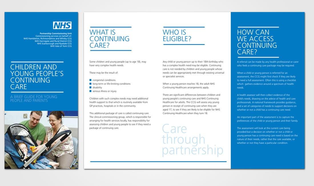 Partnership Commissioning Unit leaflet