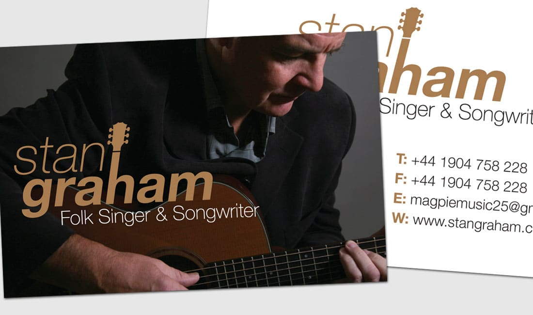 Image of Stan Graham business Cards