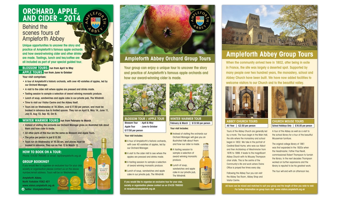 Ampleforth Abbey Leaflets