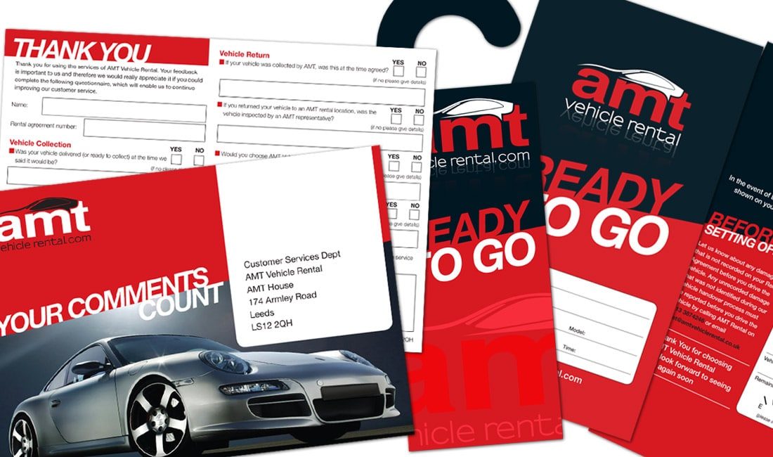 AMT Vehicle Hire literature