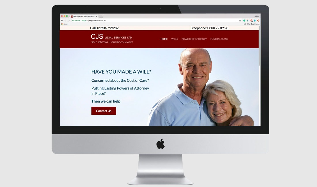 CJS Legal Services Website