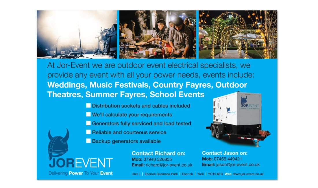 Jor-Event's Leaflet