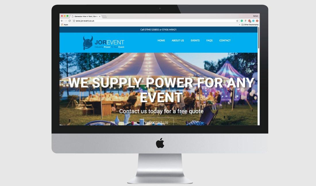 Jor-Event Website