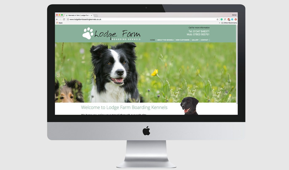 Lodge Farm Kennels Website