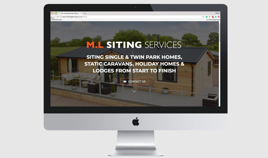 Website for M.L Siting Services