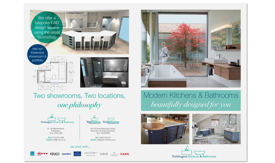 Pocklington Kitchens and Bathrooms Brochure