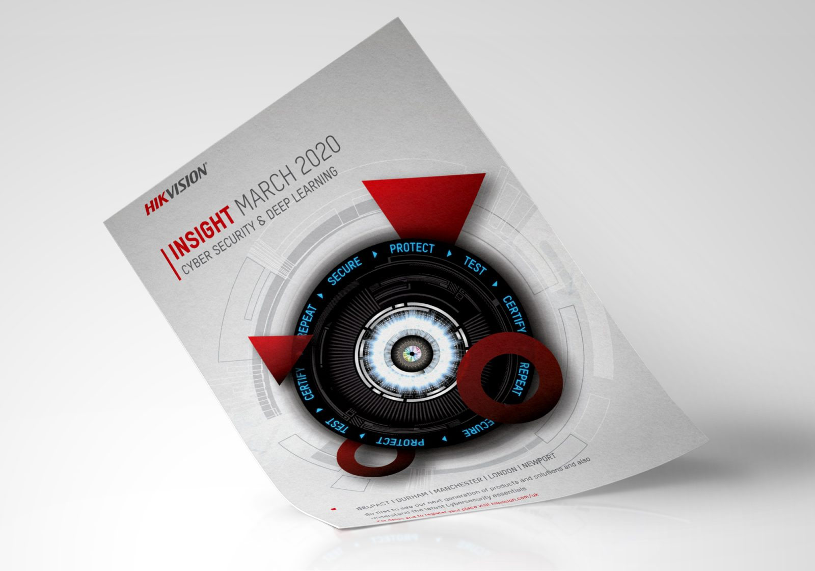 Hikvision Insight Roadshow A4 Advert